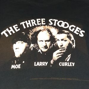 1998 The Three Stooges Vintage Balzout Shirt 90s